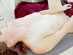 Teen Strips Down To Fuck Herself