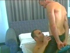 hot daddy gets a blowjob (0:00min - 9:15min)
