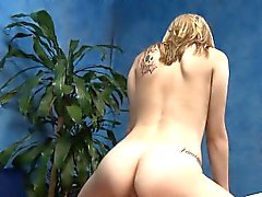 Sweet babe with bubble ass receives fingered and pounded