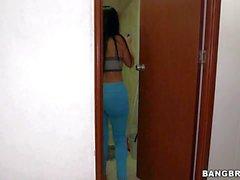 Busty latina Maid Casandra from Colombia