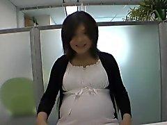 Yuri Mizukami in Horny Pregnant Mother uncensored