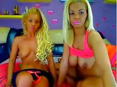 Sexy Blonde Lesbians Teasers