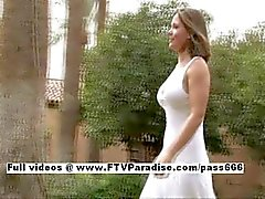 Liora tender chubby woman flashing
