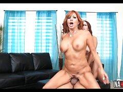 Sexy Trio Big Tits MILF Janet Mason, Tara Holiday