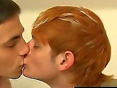 Gay cock Conner Bradley and Preston Andrews are just dangling out,