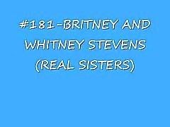 Britneys & Whitneys Stevens ( systrarna ) cumshot sammanställning ( lord of spermasprut )