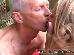 Young black girl and older man movies Naked on a bridge in a