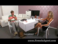 FemaleAgent - MILF agent works up an appetite