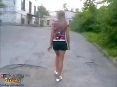 Lola Lol in her first public fuck hardcore film in 2005