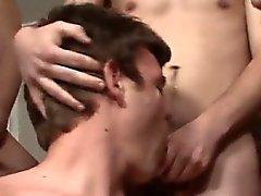 De Bukkake pornografia gay com o nervosa Natã