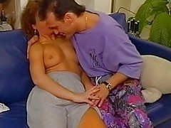 Hairy Vintage Redhead Gets Pussy...