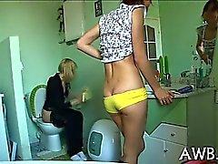 Filming masturbation scene