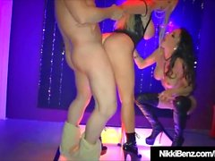 Penthouse Pet Nikki Benz & Jessica Jaymes Condividi cazzo e Cum!