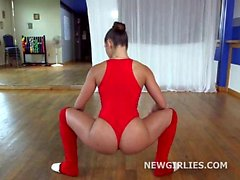 Bella Danger incredible ballet babe