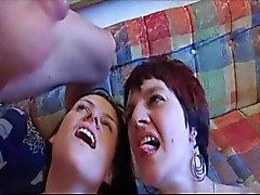 deux Salope mature french anal