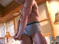 Uomo muscoloso di Scott progredetto