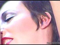 HARMONY VISION Anal jodido Alicia Rhodes con strapon