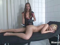Slutty blond chick gets pussy fucked