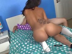 Teen Latina Handjob Punishment