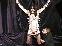 Cavilhado tortura slaveslut madura