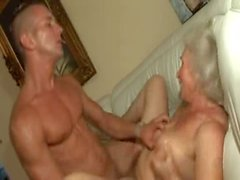 Hot sex with delicious grandmother