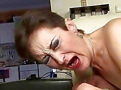 Naughty granny fucking with a boy