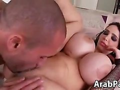 Arab Whore With Massive Fake Breasts