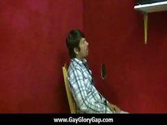 Homosexuell hardcore Glory Hole Geschlechts Porno und bösen Homosexuell die handjobs 10