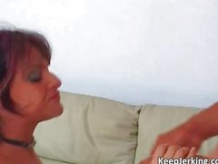 Hot redhead slut gets her ass fucked