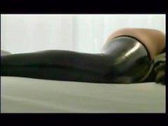 Dita Von Teese Bondage bed