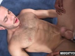 Latin gay analsex och creampie
