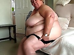 Very big old grandma
