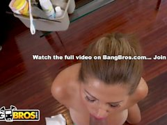BANGBROS - Busty Latina Maid and MILF Alesandra Gets Railed By Client