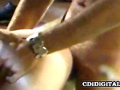 Rubia de Tiffany a Blake con un tiempo inolvidables con cojones
