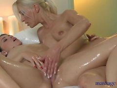 Young Lesbian Massage