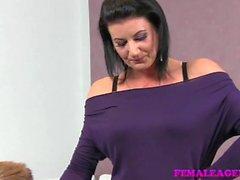 FemaleAgent - Horny MILF desires studs cock