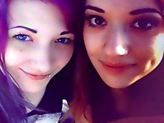 İki emo kızlar cum