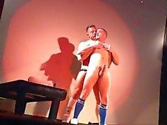 Los actores porno en vivo Sex Show