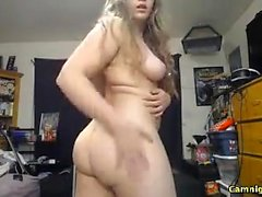 Сексуальная slutty блондинка с большой сиськи задницу трахал