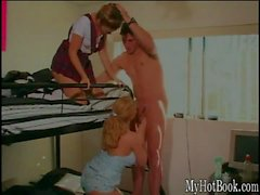 Kiki Daire and Sabrina Jade are ratchet whores that love having dudes from