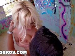 BANGBROS - Blondie Fesser Gets Fucked In Public By Nick Moreno