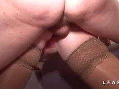 Casting anal pour 2 salopes prises en DP et fistees