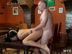 Old man cums inside young pussy xxx Can you trust your gf