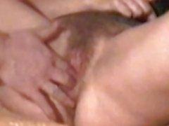 Mrs B latex: nipple clamps & fingerfuck
