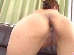 Ibuki Akitsu tries a fat cock deep in her Asian booty
