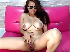 Huge breasts latinas love climax that is ohmibod