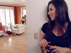 August Ames sucking Jelena Jensen tits