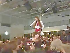 wild fetish orgy scandal on public show stage
