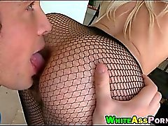 Phat ass white girl Anikka Albrite boned by throbbing dick