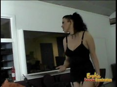 Ravishing Anastasia Pierce and three horny studs have fun